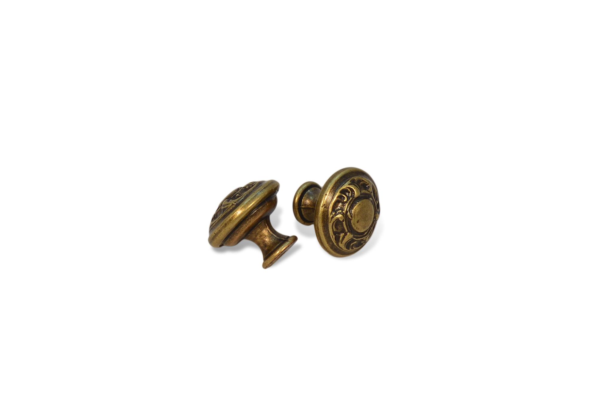 Küchengriffe Messing ~ 2x möbelknöpfe schrankgriffe küchengriffe griff knopf messing antik lackiert neu ebay