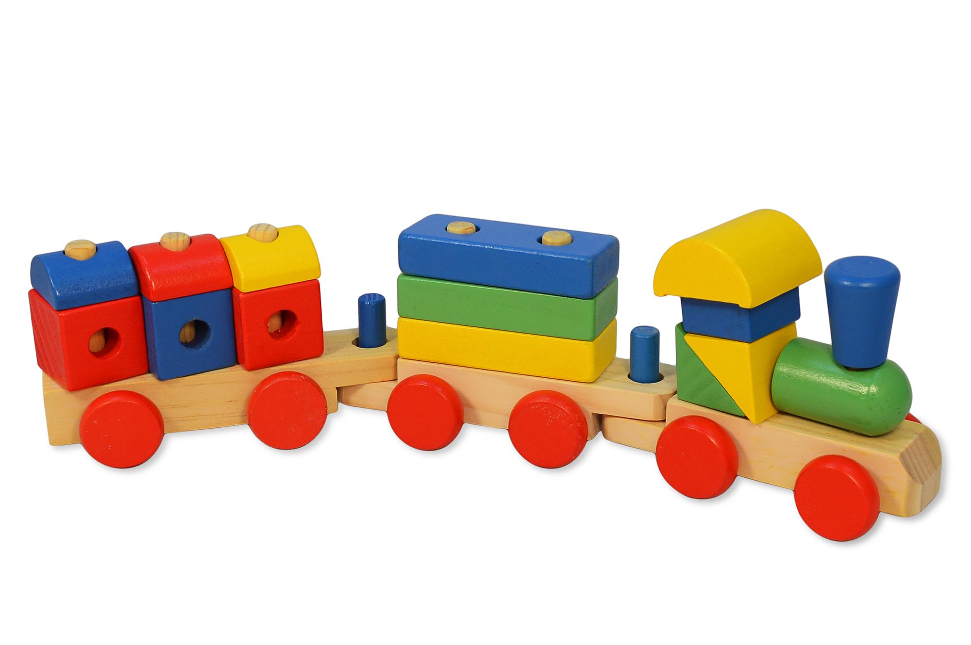 Holzzug holzeisenbahn eisenbahn aus holz zug spielzeug