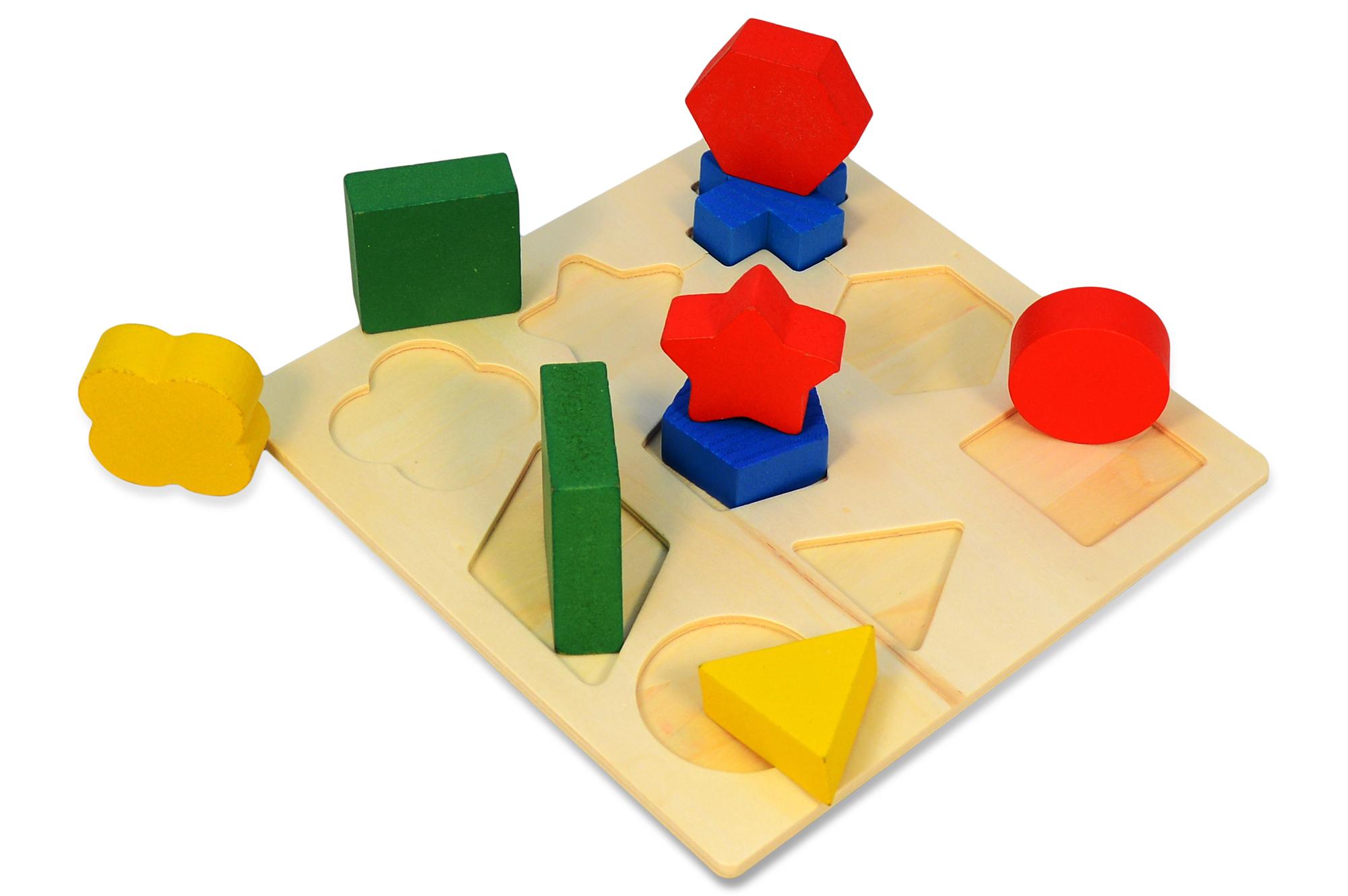 set puzzle setzpuzzle steckpuzzle holz f r kinder baby. Black Bedroom Furniture Sets. Home Design Ideas